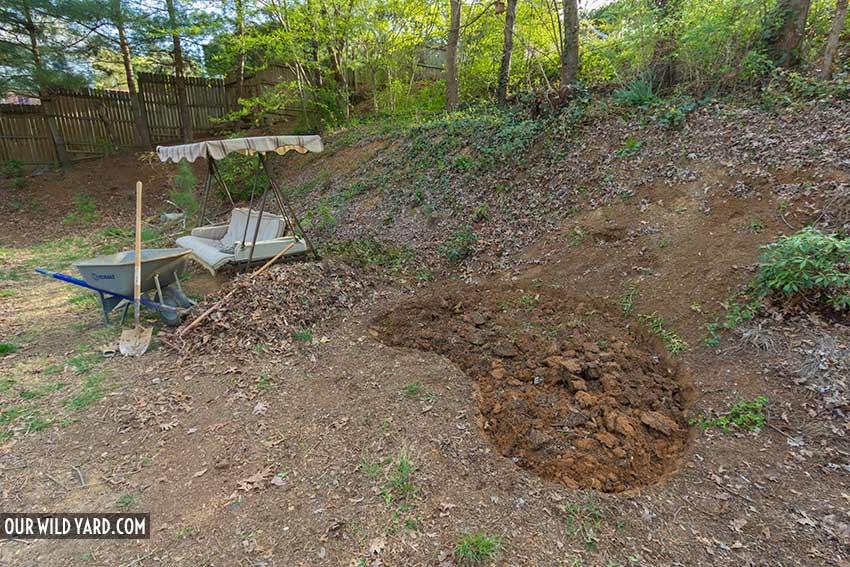 How to Make a Pond for Wildlife step 1